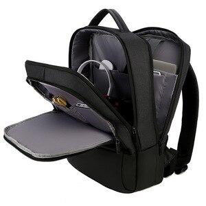 Image 4 - 2019 メンズビジネスノートパソコンのバックパック USB 充電男性 14 15 インチコンピュータバッグ防水 Bookbags トラベル Mochila