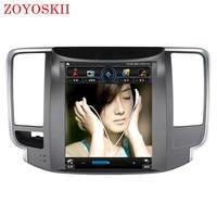 ZOYOSKII ОС Android 10,4 дюйма Автомобильный gps Мультимедиа Радио bluetooth навигации плеер для Nissan teana J32 2008 2012
