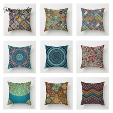 Fuwatacchi Simple Geometric Cushion Cover Mandala  Soft Throw Pillow Decorative Sofa Case Pillowcase
