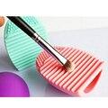 Nuevo Pop Cepillo huevo Huevo de Lavado de Maquillaje Cosmético Del Cepillo Cepillos de Limpieza Herramientas de Limpieza de Los Pinceles de Maquillaje Herramienta de La Belleza