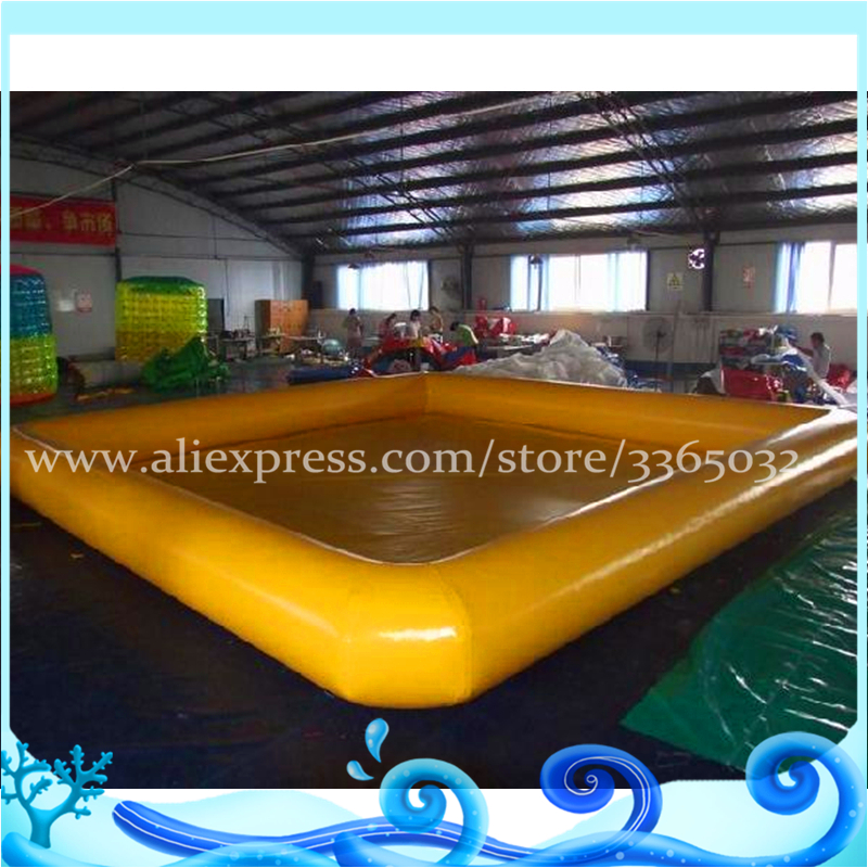 Outdoor Above Ground Family Inflatable Swimming Pool For Water Game Walking Balls Use