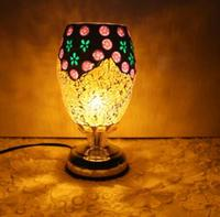 light of shipping complex antique mosaic lamp burner plug lamp oil lamp table lamp wedding DF110