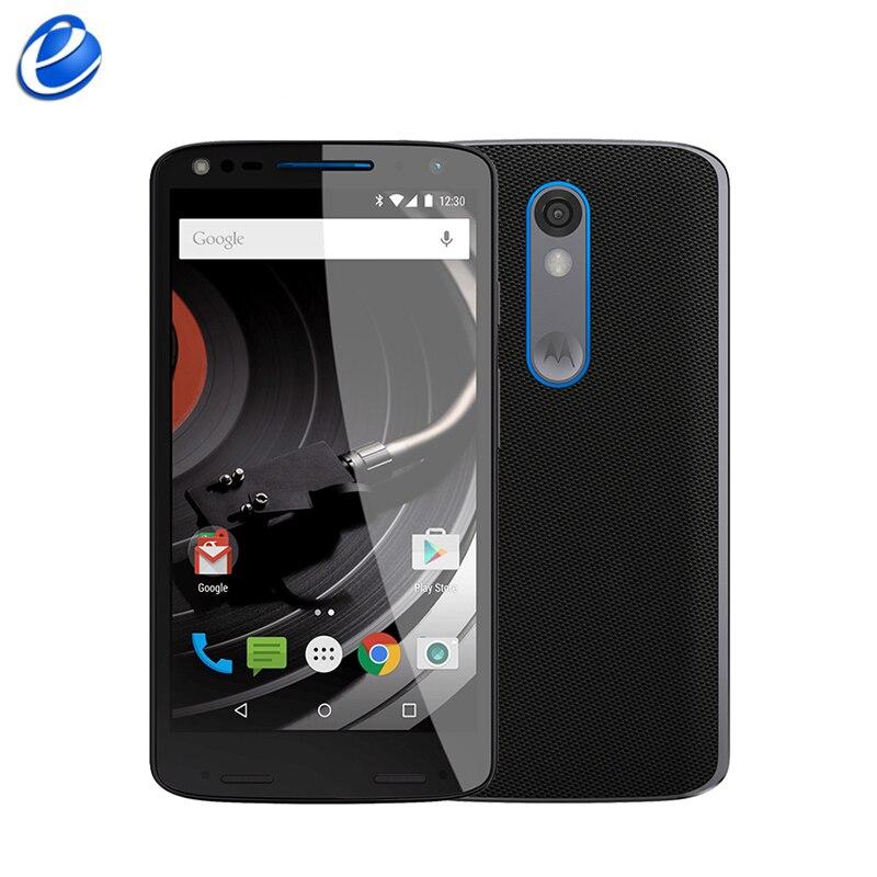 """Цена за Разблокирована Оригинальный Motorola DROID turbo 2 XT1585 Мобильного Телефона 3 ГБ RAM 32 ГБ/64 ГБ ROM 5.4 """"сенсорный 21MP Камера 4 Г WI FI GPS мобильного телефона"""