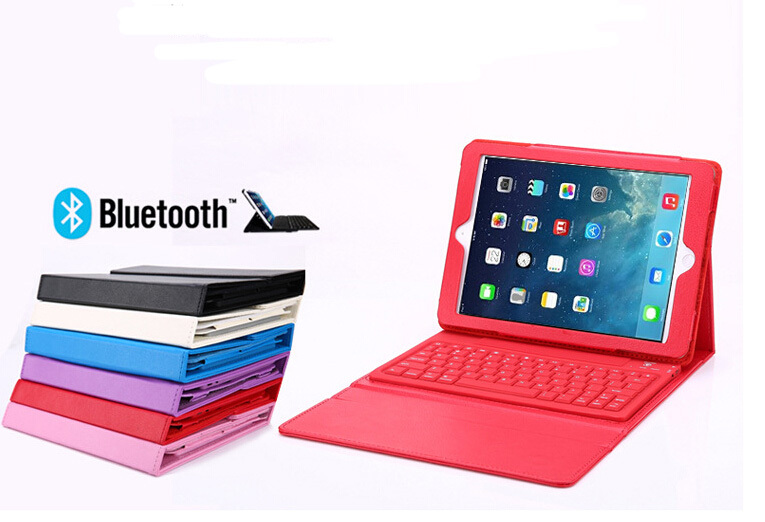 New Arrival Smart Stand Wireless Bluetooth Keyboard Case For Ipad Mini 1/2/3 new laptop keyboard for exo smart cn 87 v2 smart cn55 smart cn63 smart cn79 smart cn87 black sp spanish version teclado