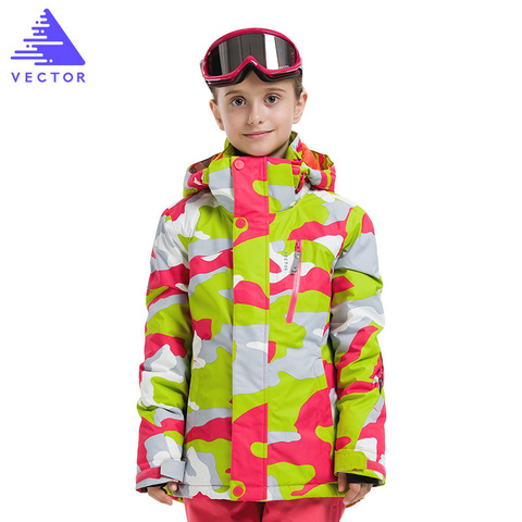 Girl Ski Jackets Winter Outdoor Children Clothing Kids Waterproof Windproof Ski Jackets Warm Skiing Jackets For Girls Karachi