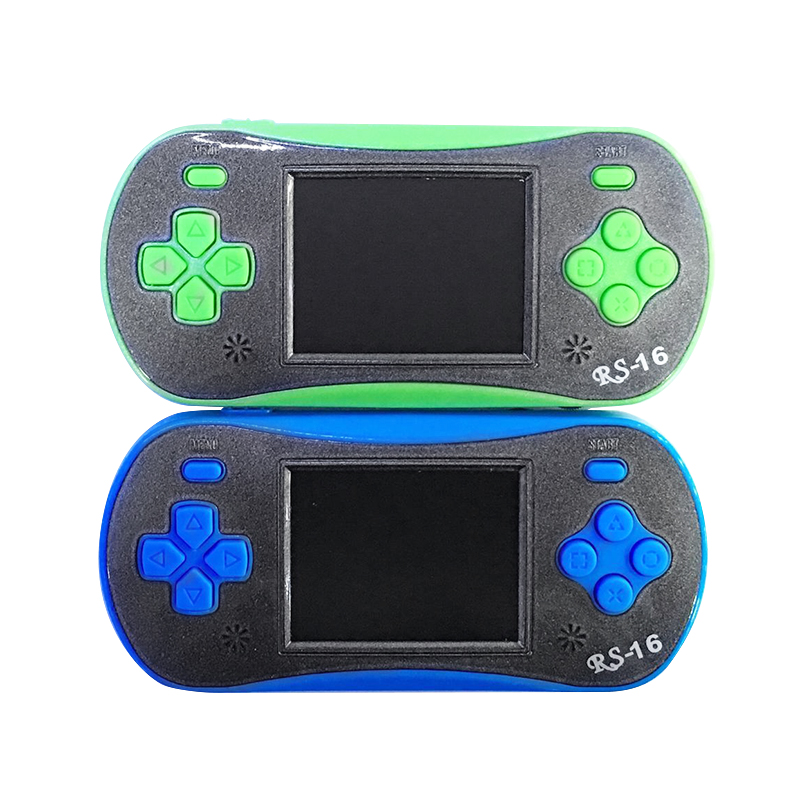 HobbyLane RS-16 <font><b>2.5</b></font> Inch 8 Bit Game Console <font><b>LCD</b></font> <font><b>Screen</b></font> Color Display 260 Classic Games Portable kids Handheld Game Player d25 image