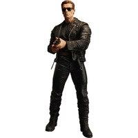 Arnold Schwarzenegger Doll NECA Judgement Day The Terminator 2 Action Figure T 800 T800 Steel Mill Model PVC Toy 18cm KB0378
