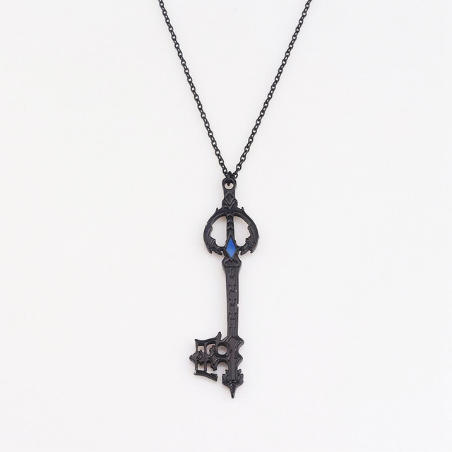 Hot game kingdom hearts oblivion blade necklace black oathkeeper hot game kingdom hearts oblivion blade necklace black oathkeeper keyblade necklaces pendants jewelry accessories cosplay aloadofball Image collections