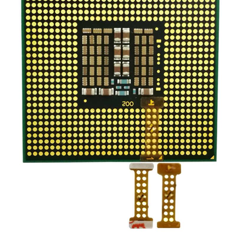 2 pcs LGA 771 Turn 775 adapter ,771 -775 sticker (lga771 to lga775) adapter  for XEONS CPU X5460 E5450 e5440 x5472 x5482 adapter