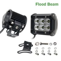 CO LIGHT 4 18W 36W 72W CREE Chips LED Offroad Driving Work Spot Light Bar Truck