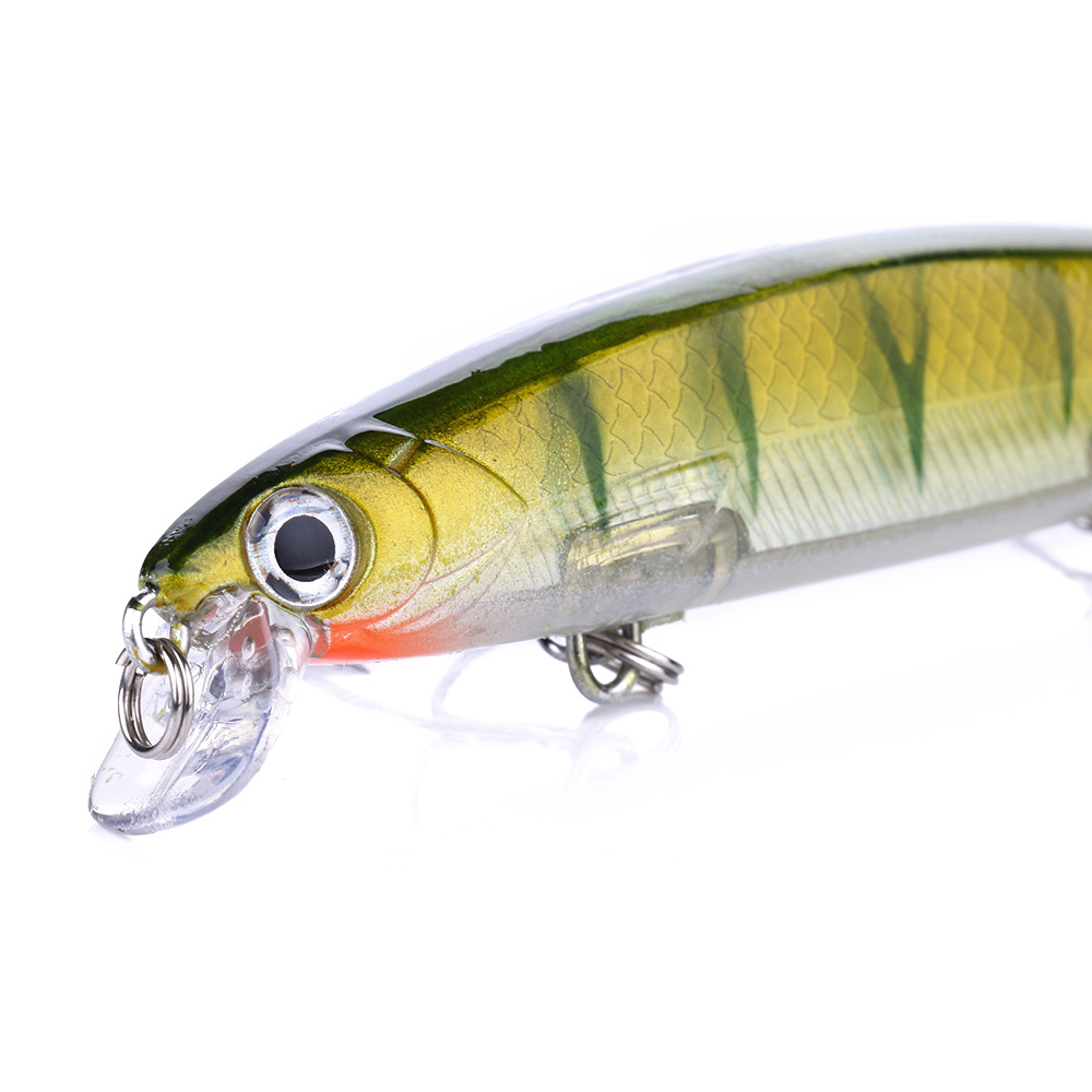 110mm 13g Swimbaits Bass Big Fish Fishing Sink Hard Crankbait Minnow Lure for Saltwater Freshwater Fishing