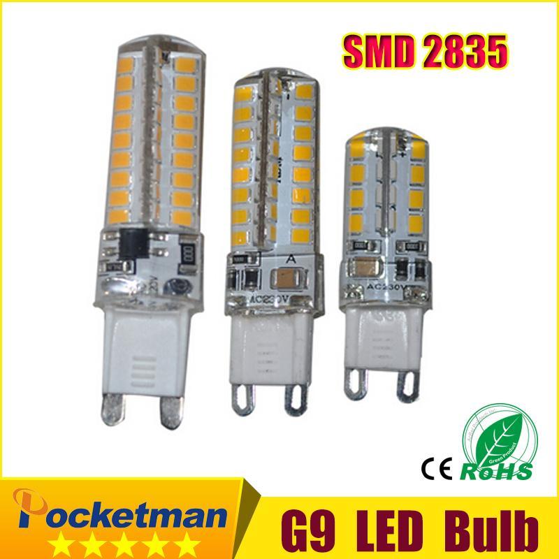 1pcs G9 LED Bulb 220V 6w 9W 12w  LED Lamp G9 SMD 2835 CREE LED light 360 degree Beam Angle led spotlight lamps 1pcs gu10 mr16 smd2835 led bulb e27 220v 230v spotlight 4w 6w 8w 48leds 60leds 80leds spot light cree bulb