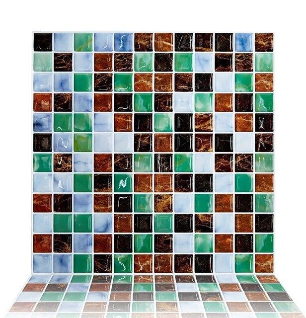 Cocotik Backsplash Fliesen Für Küche Marmor Quadratischen Schälen Und Stick  Fliesen, Adhesive Vinyl Wandfliesen,