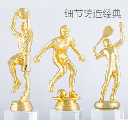 High quality!30CM badminton crystal trophy custom creative metal lettering sports awards gifts souvenirs,Free shipping high quality 30cm metal trophy soccer basketball volleyball trophy sports trophy souvenirs free shipping