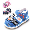 Summer new arrival children shoes sound baby canvas shoes toddler child sandals