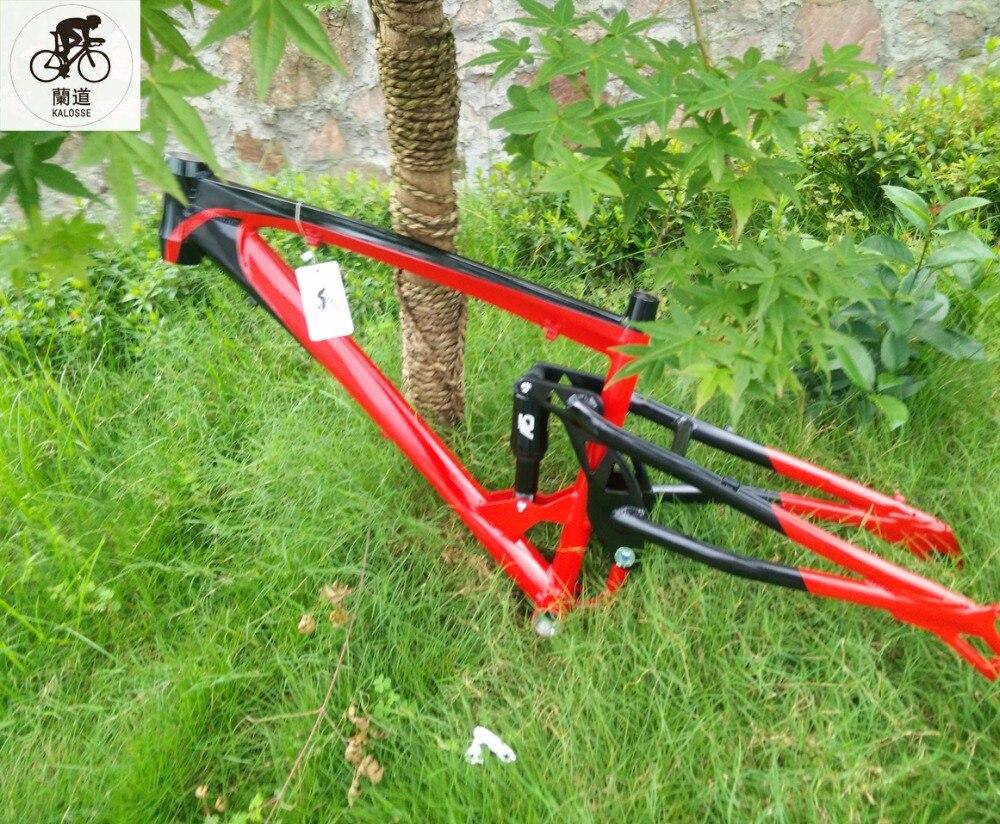 Kalosse Downhill Fat bike frame 120mm BB Beach bike frame air ...