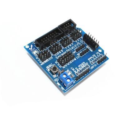 V5.0 Датчик Щит Плата расширения для Arduino электронных блоков робот аксессуары Датчик  ...