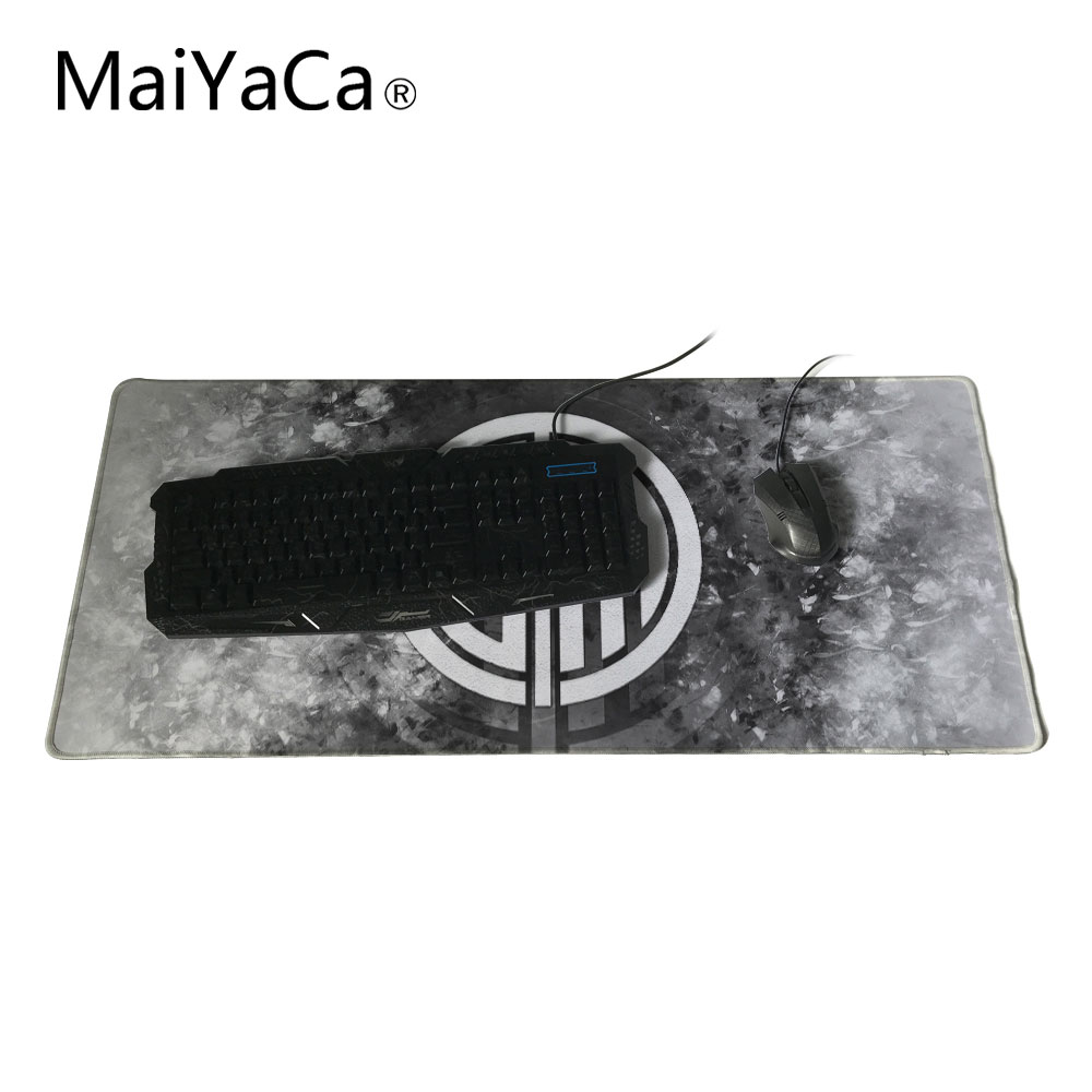 2017 HOT Genuine Original MaiYaCa Mouse Pad LOL Gaming Team TSM LOGO E-Sport Game Mouse pad XL Keyboard mouse pad