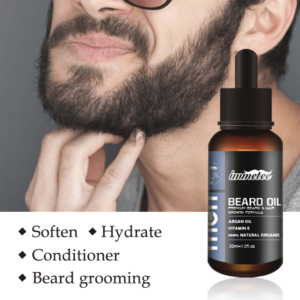 Image 2 - Beard Oil Hair Growth Essence for Anti Hair Loss Products for Topical Treatment Serum Stimulation Fast Thick Hair Care Solutions-in Hair Loss Products from Beauty & Health