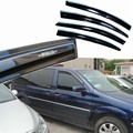 4pcs Windows Vent Visors Rain Guard Dark Sun Shield Deflectors For Buick GL8