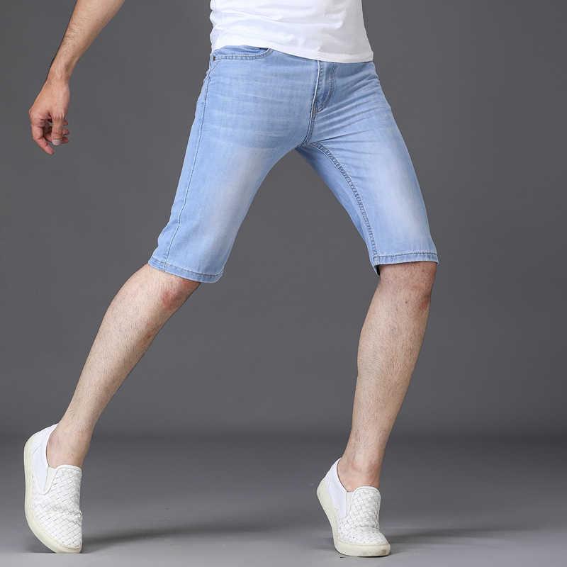 Бренд sulee 2019 мужские рваные короткие джинсы брендовая одежда летние хлопковые шорты дышащие рваные джинсовые шорты мужские