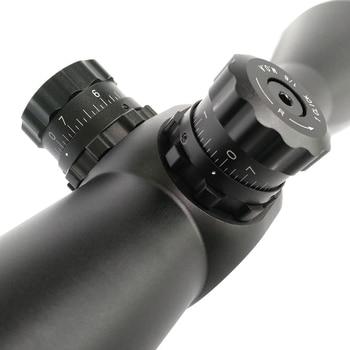 Shooting hunting 4-50 x75 long range 35mm tube rifle scope military optical telescope sights sniper mil dot reticle riflescope 4