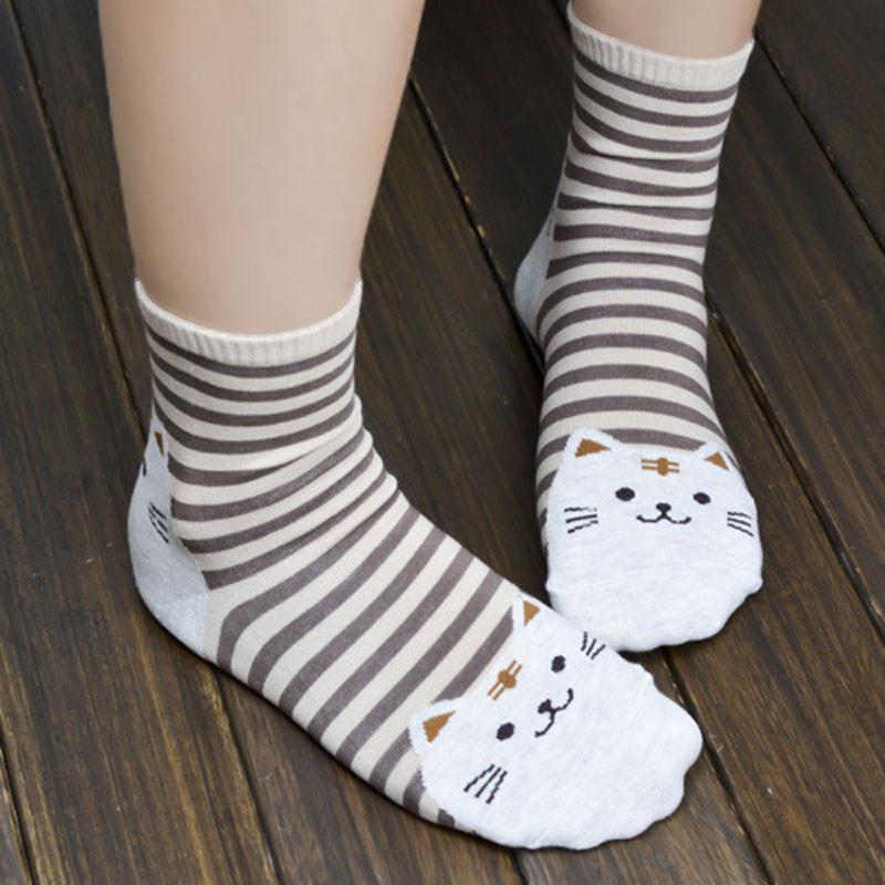 Cute Socks With Cartoon Cat For Cat Lovers Cute Socks With Cartoon Cat For Cat Lovers HTB1DiwXQVXXXXXyXVXXq6xXFXXXh