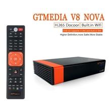 GTMedia V8 Nova DVB-S2 Freesat Satellite Receiver V8 Super H.265 WIFI Europe Spain PT DE PO CCcam TV Decoder цены онлайн
