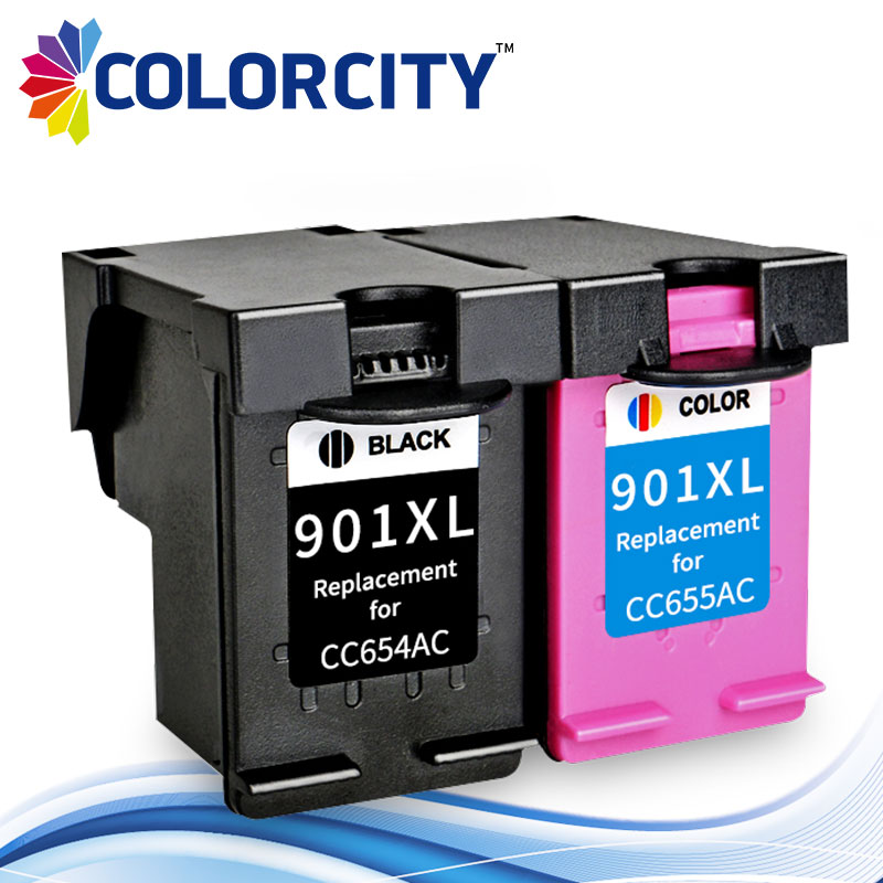 US $13 5 |Compatible Ink Cartridge 901XL 901 XL for HP Officejet 4500 J4500  J4540 J4550 J4580 J4585 J4640 J4660 J4680c printer-in Ink Cartridges from