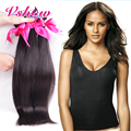 V Show Hair Company 4PCS Peruvian Virgin Hair Straight Human Hair Extension 8A Peruvian Virgin Straight Human Hair Weave Bundles