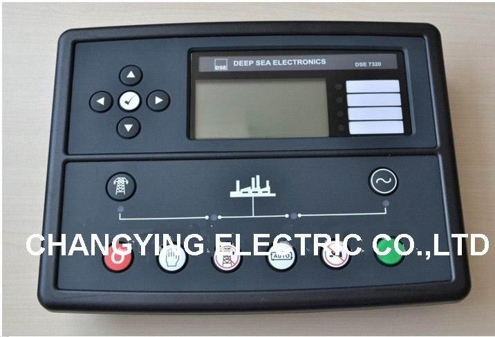 2018 controller DSE7320 Generator Genset Auto Start Control Module New Electronics Controller Control Module Panel DSE7320 free shipping dse7320 engine generator controller module auto start control suit for any diesel generator