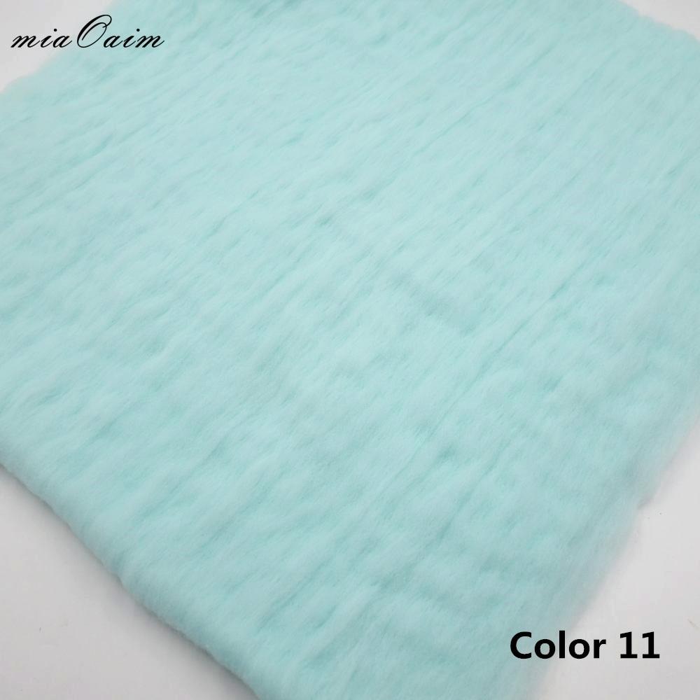 Fluffy Wool Felt Fleece Blanket Basket Filler Stuffer