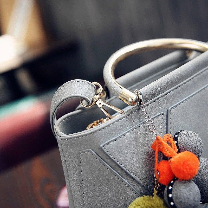 Uus Winter Stitch Tote bag Naiste käekott Naiste Fashion messenger - Käekotid - Foto 4
