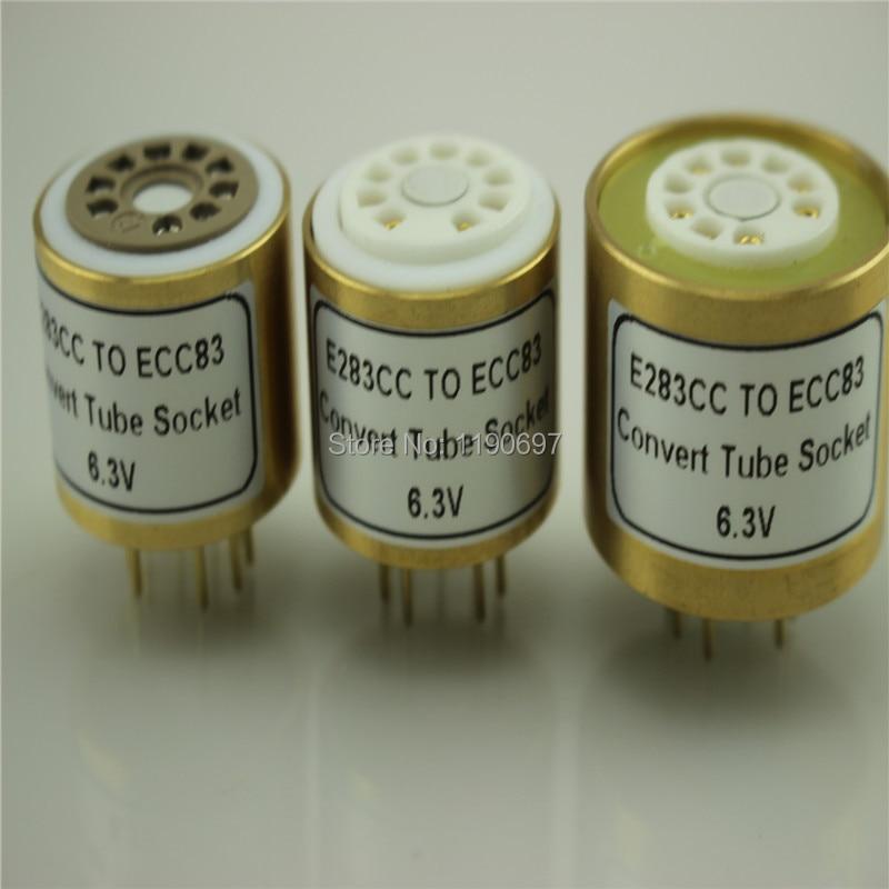 1PC E283CC Top TO 12AX7 12AU7 12AT7 ECC83 6 3V bottom Tube DIY Audio Vacuum Tube