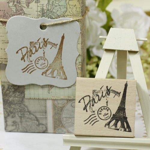 High quality paris tower 4*6cm scrapbooking stamp silicone,carimbos wooden scrapbooking rubber stamps carimbo diy stempel handmade vintage towel 7 4cm tinta sellos craft wooden rubber stamps for scrapbooking carimbo timbri stempel wood silicone stamp