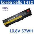 HSW batterie d'ordinateur portable Pour Lenovo L510 L512 L520 SL410 SL510 T410 T420 T510 batteries T520 batterie pour ordinateur portable W510 W520 batterie