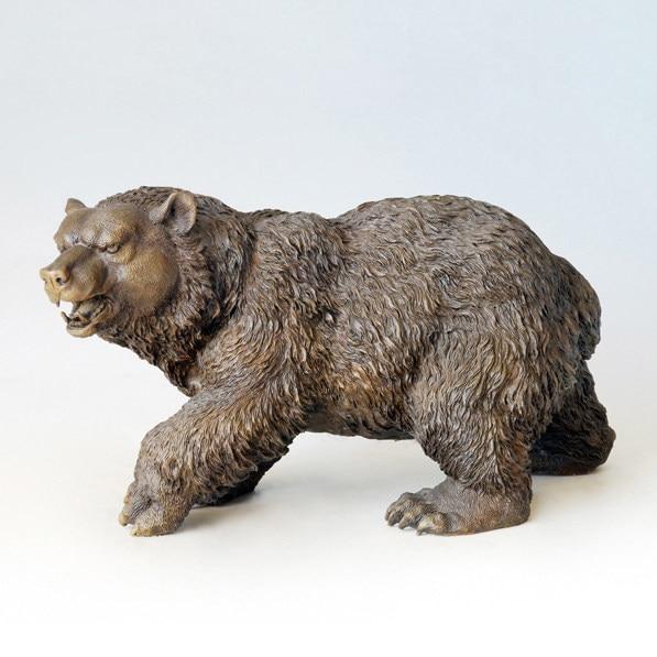 ATLIE BRONZES Casting Crafts Sculpture Bear Bronze Bears Statues European  Christmas Gifts Garden Statues