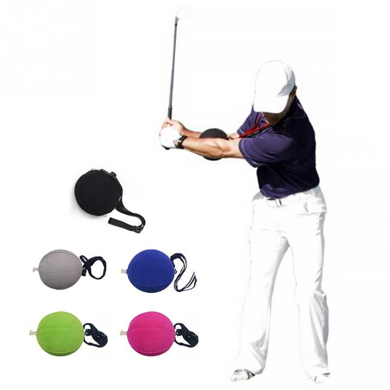 Outdoor Adjustable Training Aid Portable Beginner Sports Golf Inflatable Smart Ball Gesture Swing Assist Easy Use Tool