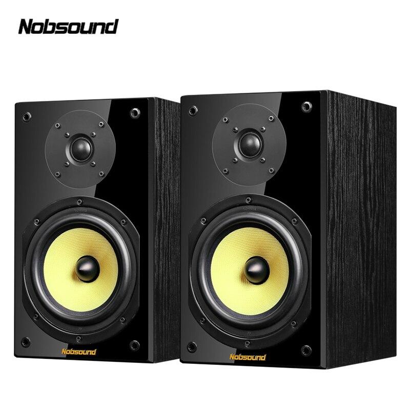 Nobsound NS-2000 Legno 100 W 1 Paia 6.5 pollici Diffusori Da Scaffale 2.0 HiFi altoparlante Colonna Audio di Casa Professionale