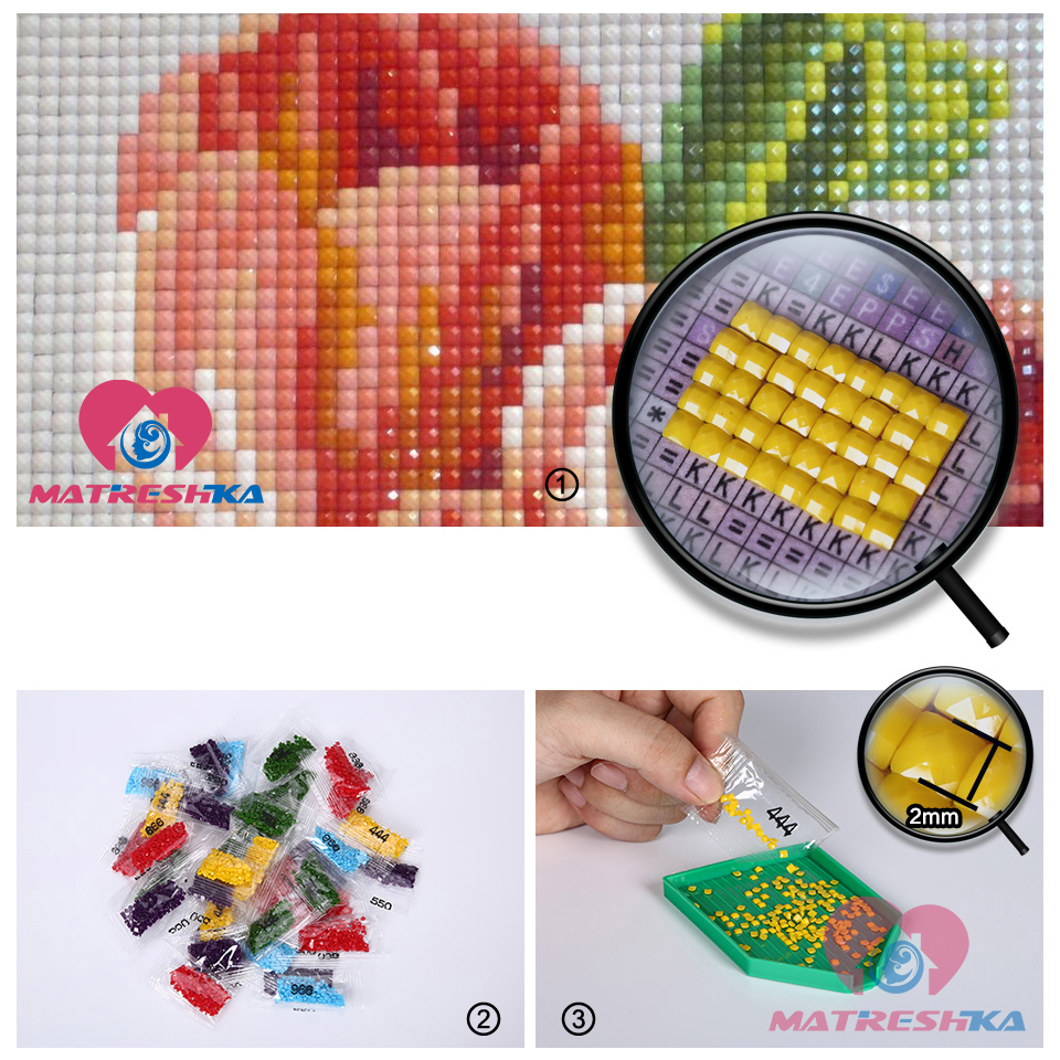 Diamond Mosaic Pattern Dragon Cocktail Diamond Embroidery Beads 5d Diamond Painting Cross Stitch Rhinestones Home Decor Animals in Diamond Painting Cross Stitch from Home Garden