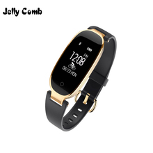 Jelly Comb Slim Smart Watch for IOS Android Phone Smart Wristbands Fitness Track Bracelet