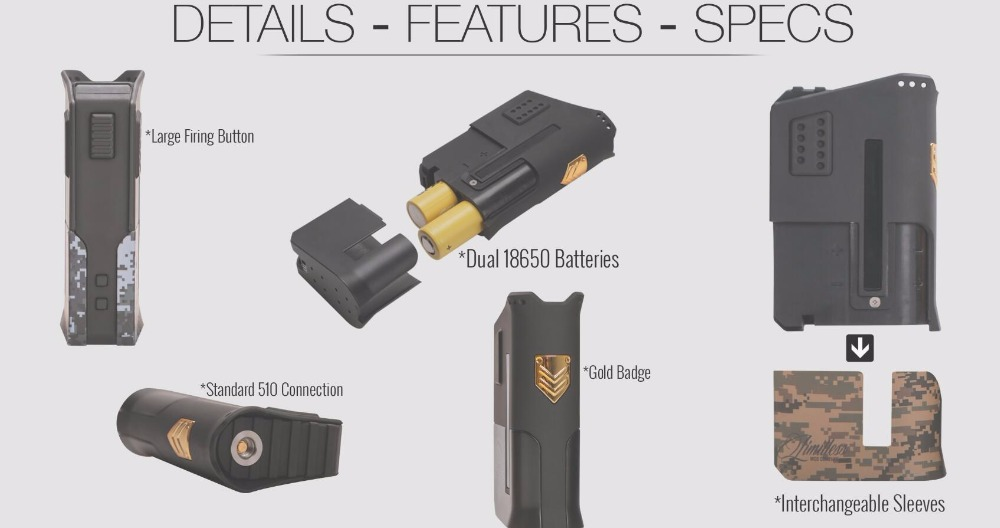 Limitless Arms Race Box Mod-2