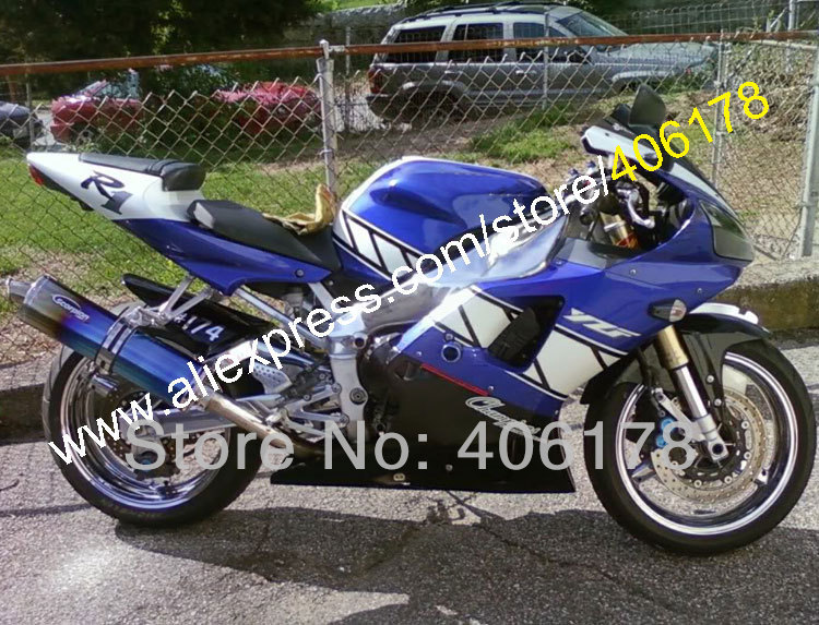 US $429 0 |Hot Sales,bodywork fairing for Yamaha YZF R1 YZFR1 00 01 YZF R1  YZF1000 2000 2001 Multi color fairings (Injection molding)-in Covers &