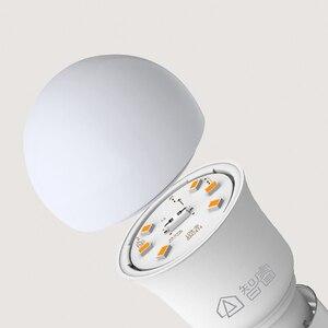 Image 2 - Youpin ZHIRUI 5WหลอดไฟE27 6500K 500lumสีขาวหลอดไฟLEDสำหรับชุดโคมไฟหลอดไฟ