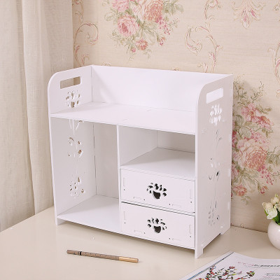 DIY Korea drawer cosmetics storage box makeup organizer ...