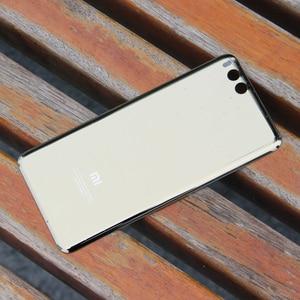 Image 5 - Funda trasera de cristal Original para XiaoMi Note 3, carcasa trasera para batería de teléfono