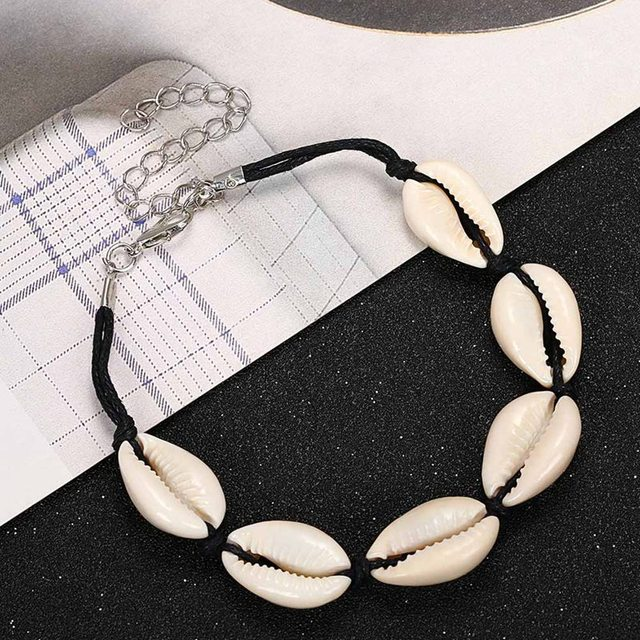 Women's Boho Style Cowrie Shell Bracelet 4