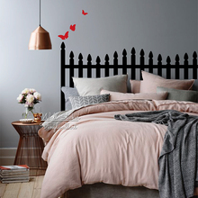 Headboard Wall Sticker Modern Decal DIY Creative Decor Bedroom Home Improvement Cut Vinyl M62