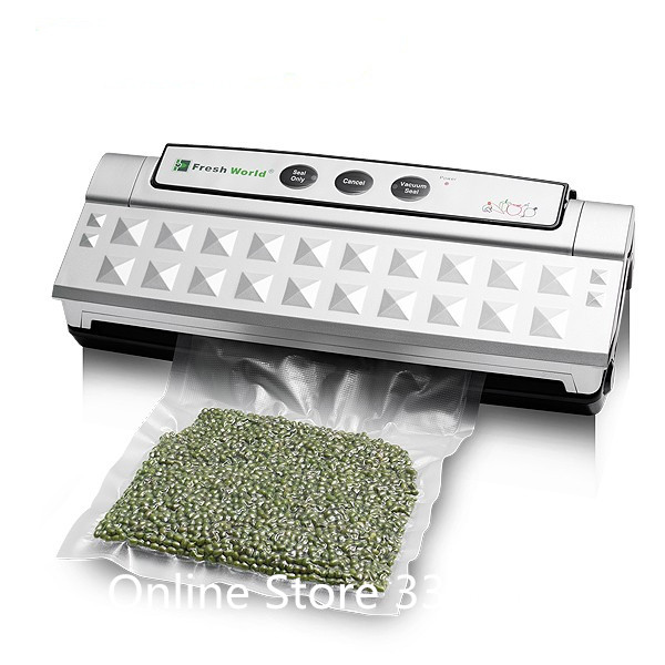 Best Household Food Preservation Vacuum Packaging Sealer Home Kitchen Bag  Seal Packing Machine Equipment