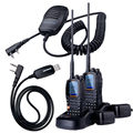 2PCS Wouxun KG-D901 UHF 400-470MHz DMR Digital Two Way Radio 1000 Channels 2000mAh 4W Walkie Talkie Transceiver MIC+CD